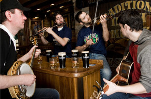 Irish pubs and music