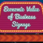 Economic value of a signage thumbnail