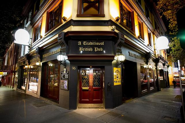 Traditional British Pub