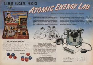 Gilbert Uranium toy set