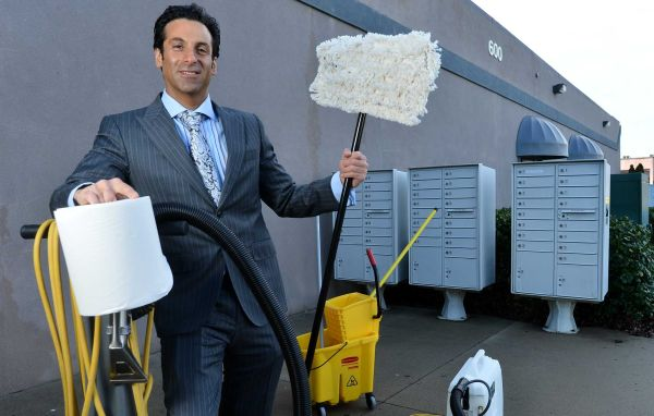 Entrepreneurs and cleaning business