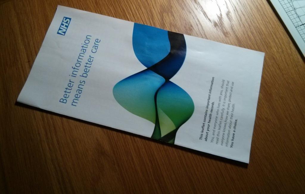 NHS Care data leaflet