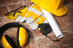 Construction site safety equipment