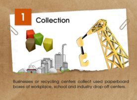 The Recycling Story Of Paperboard – Learn How It Gets A New Life [Infographic]