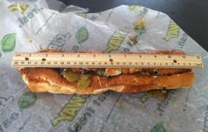 Subway footlong controversy