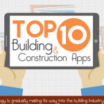 Building and construction apps infographic