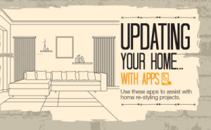Mobile Apps That Help You Restyle Your Home [Infographic]