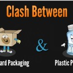 cardboard vs plastic packaging