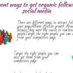 organic followers