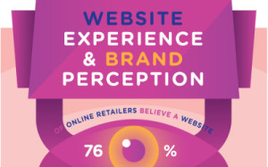 website experience and brand perception