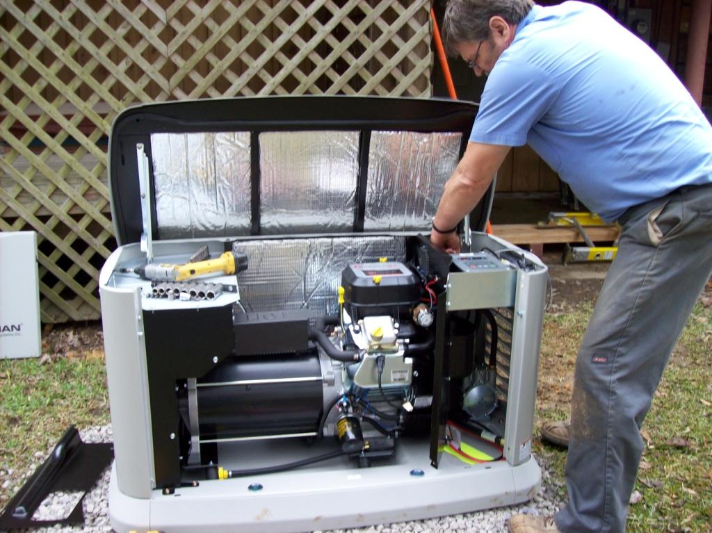 Backup generator repairs