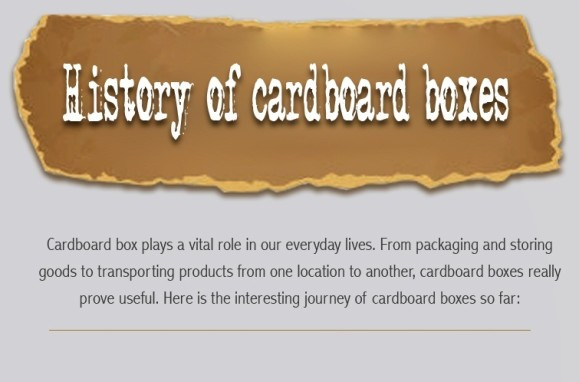 History of Cardboard Boxes Thumbnail