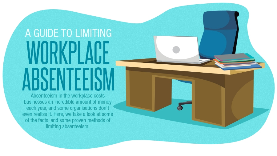 A Guide to Limiting Absenteeism at Work Infographic UK