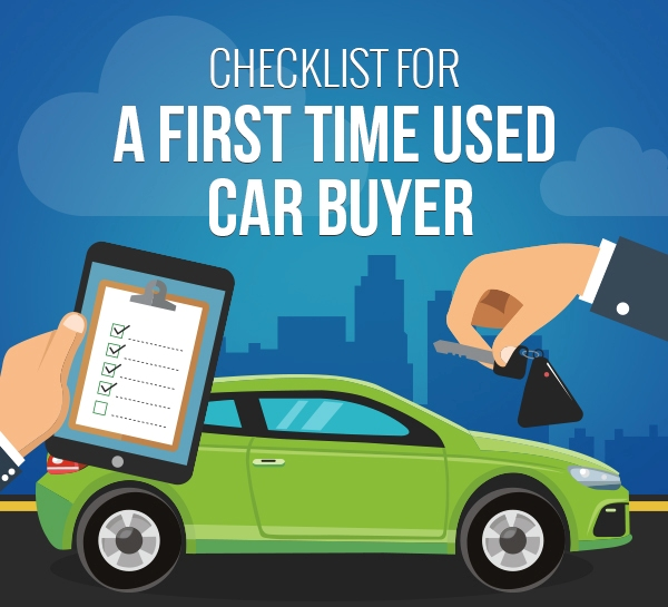 A First Time Used Car Buyer infographic Thumb
