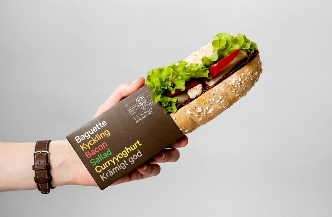 Packaging sandwich