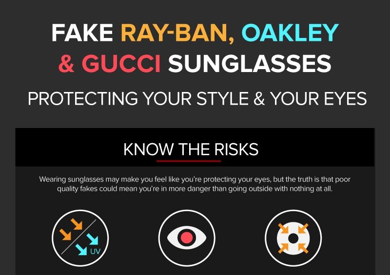 Spotting Fake Glasses infographic Thumb