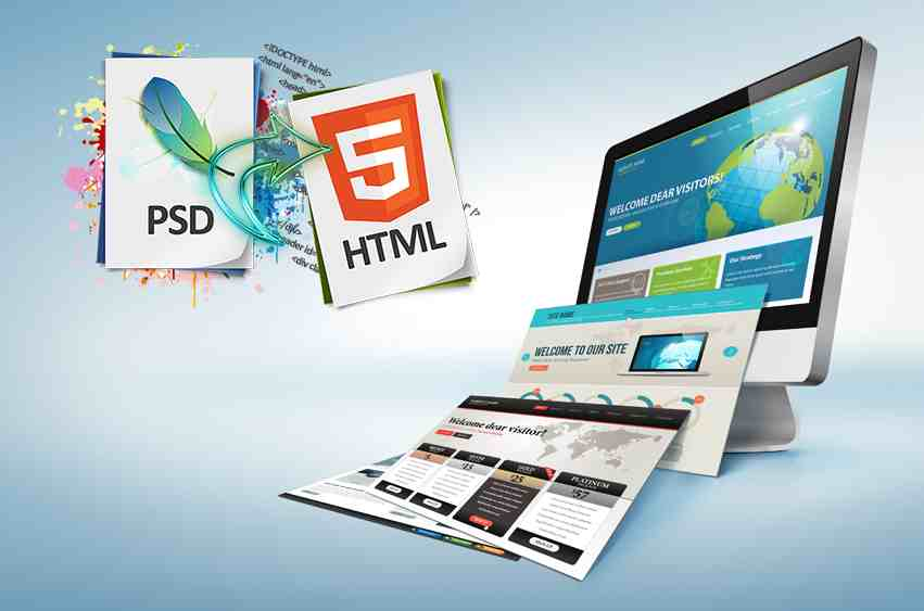 Web Design PSD to XHTML