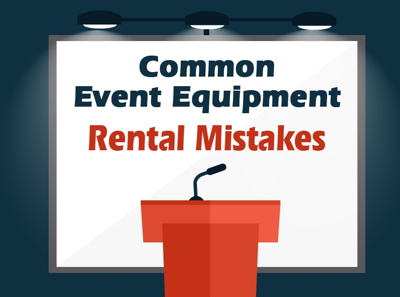rental equipment for events
