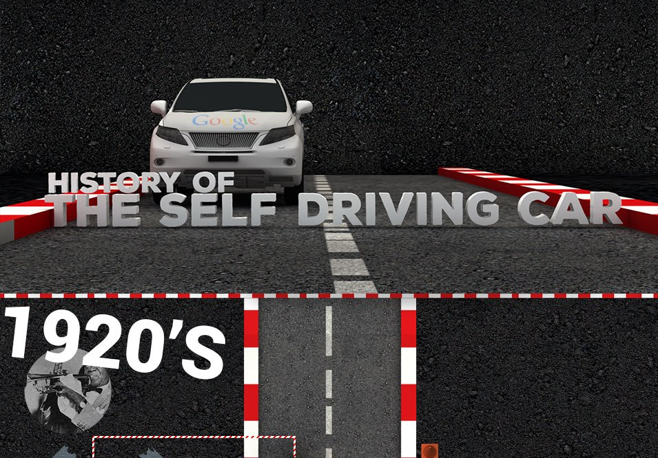 History of the self driving car Infographic Thumb