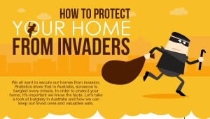 How To Secure Your Home From Invaders [Infographic]