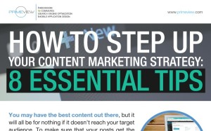 How to Step Up your Content Marketing Strategy 8 Essential Tips Infographics Thumb