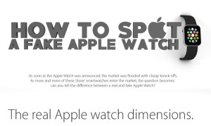 How To Spot A Fake Apple Watch? [Infographic]