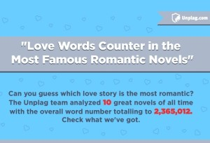 Love Words Counter In the Most Famous Romantic Novels Thumb
