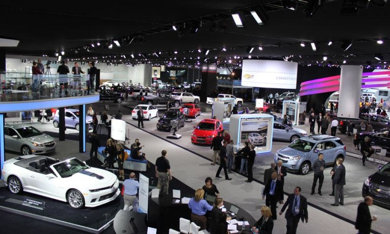 Auto car show event