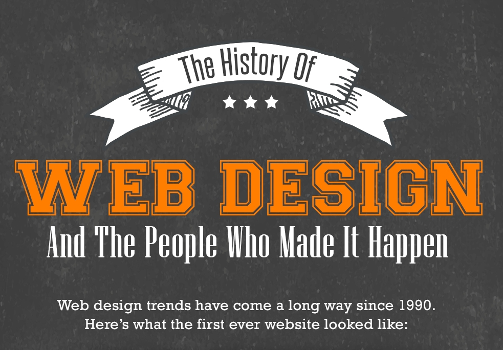 History of web design and people who made it all happen thumb
