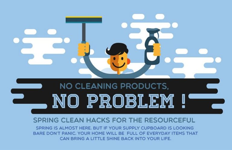 Spring Cleaning Hacks Infographic Thumb