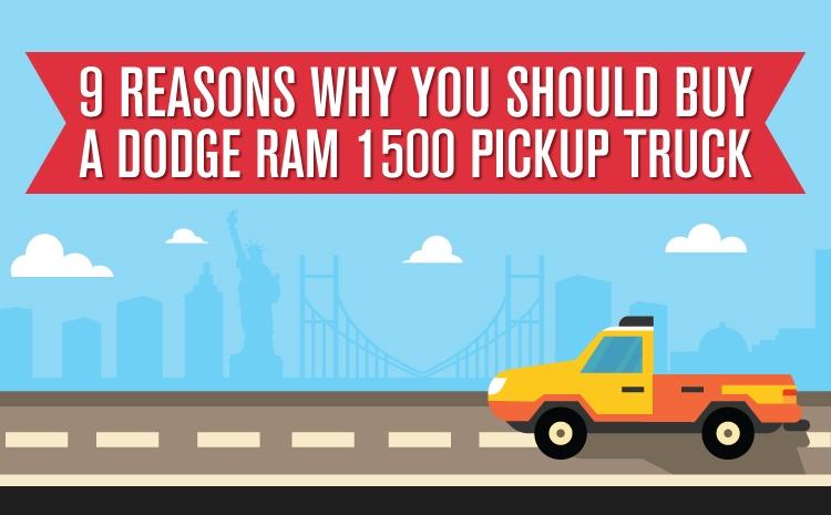 9 Reasons Why You Should Buy a Dodge Ram 1500 Pickup Truck Thumb