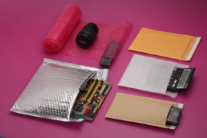 Bubble wrap items