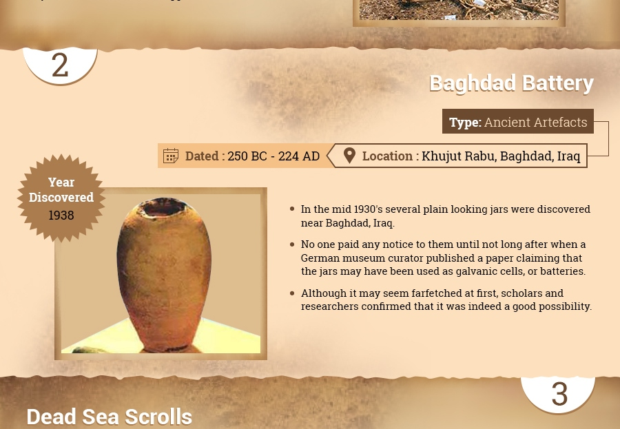 The Greatest Archaeological Discoveries Of All Time [Infographic] Thumb