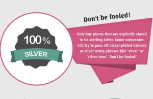 How To Know If Your Silver Jwellery Is GENUINE or FAKE? [Infographic]