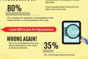 Local SEO tips Infographic