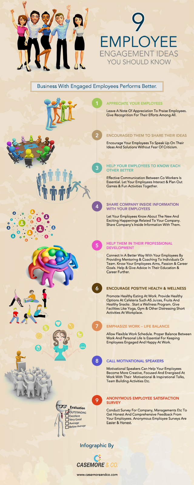 9 EMPLOYEE ENGAGEMENT IDEAS YOU SHOULD KNOW
