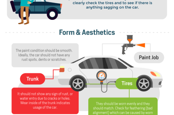Tips for buying a used car infographic thumb