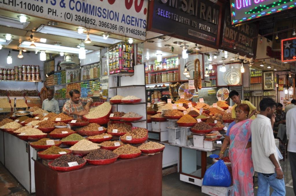 local spice market in india