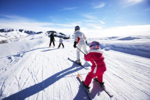 Psychological benefits of skiing