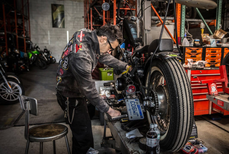 developing motorcycle skills