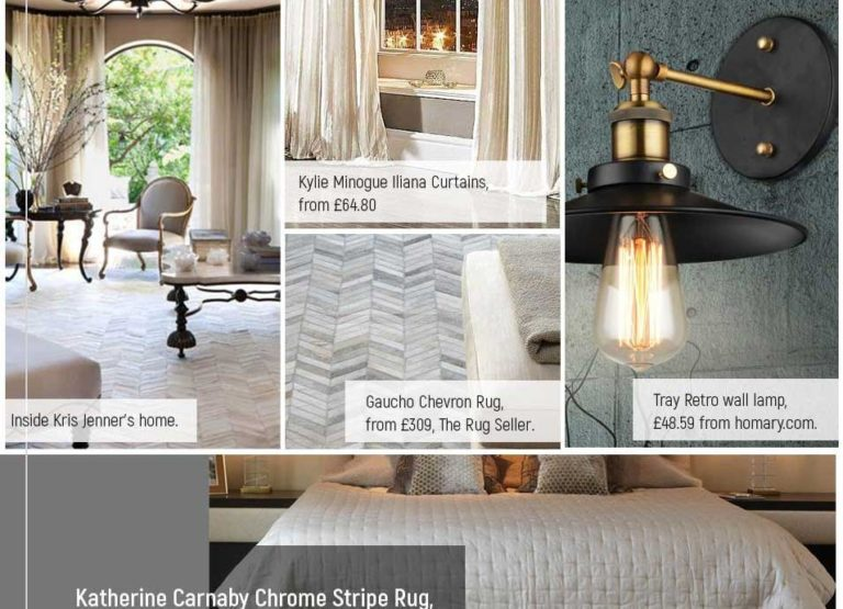 Reality TV Interior Style Guide Infographic Thumb