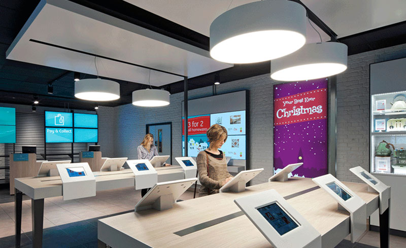 Digital signage and Christmas