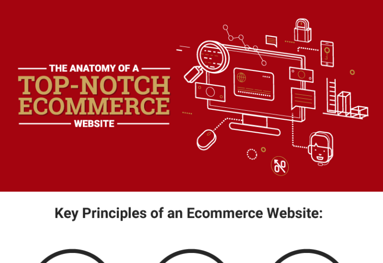 The Anatomy of a Top Notch Ecommerce Website infographic Thumb
